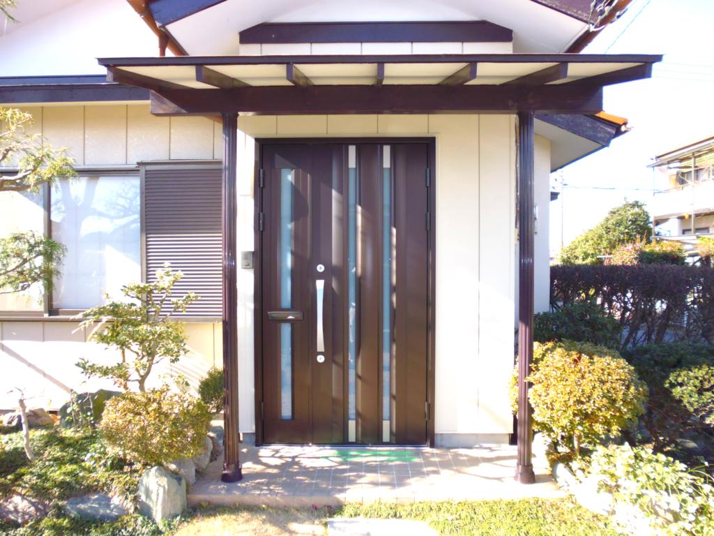 藤岡市 大森邸 玄関ドア