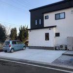 新築住宅の駐車場工事をしました | 外構工事【高崎市エクステリア】