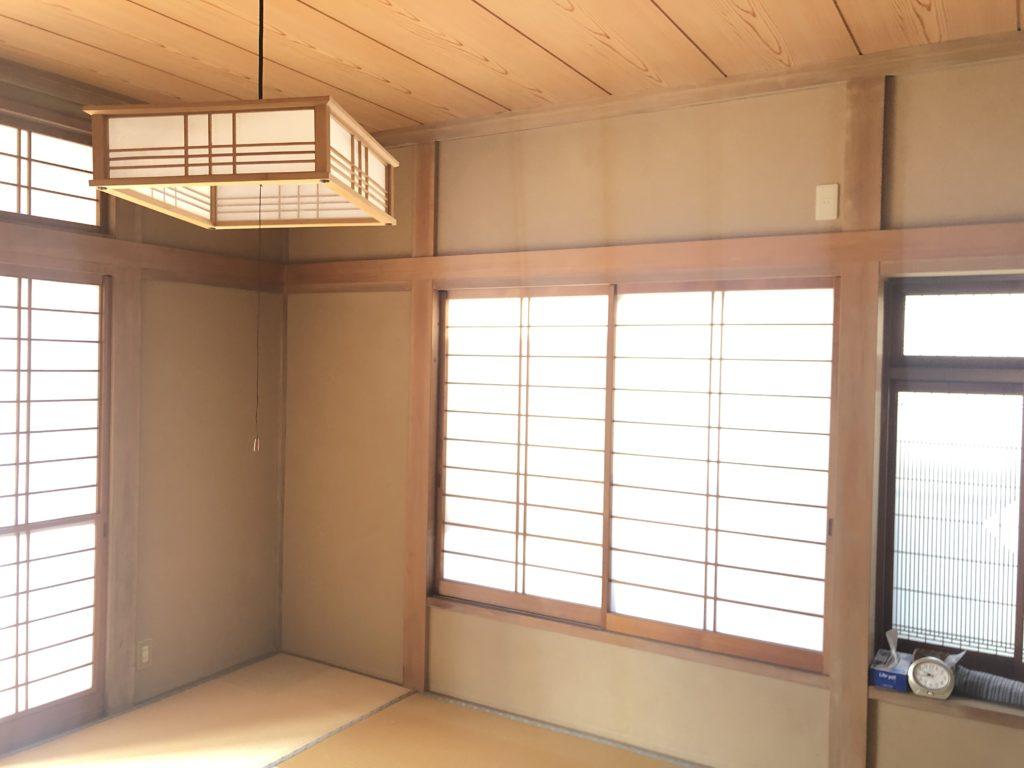 和室天井4