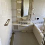 経年劣化してしまった浴室壁を一日で綺麗に|浴室壁シート張り【藤岡市リフォーム】