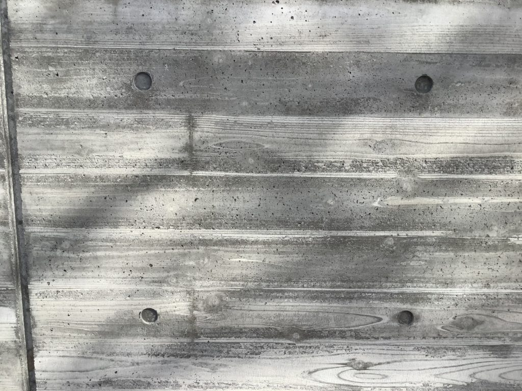 擁壁_杉板型枠