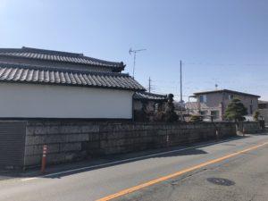 門塀改修/施工前③