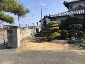 門塀改修/施工前⑤