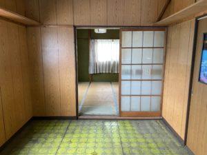 旧物置→新玄関