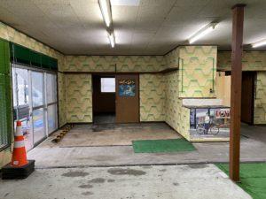 旧店舗→新居室①