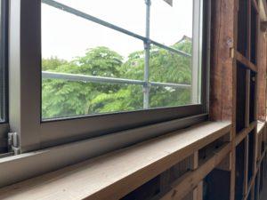 旧店舗→新居室②窓