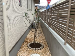 外構工事花壇