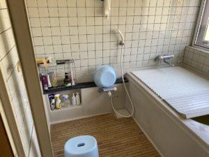 浴室改修工事前
